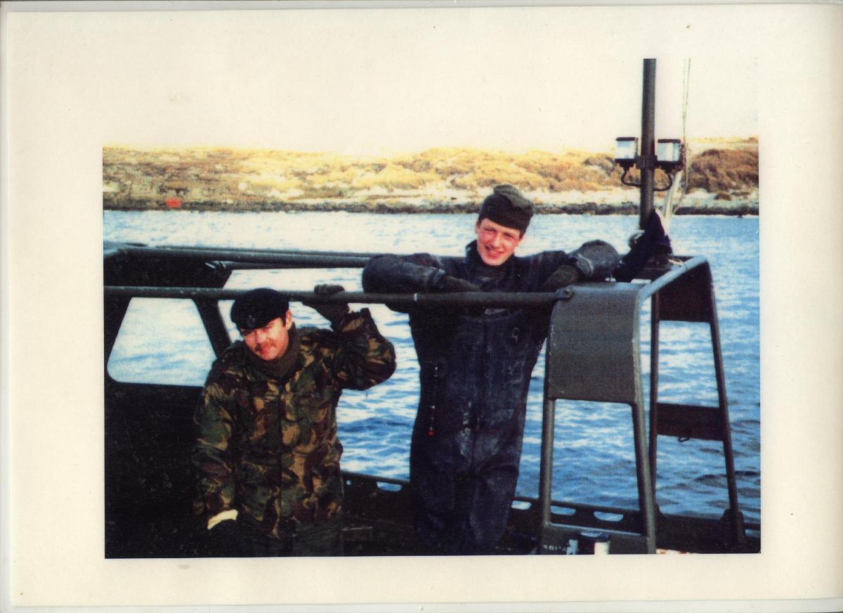 Falkland Islands, Blanco Bay 1982