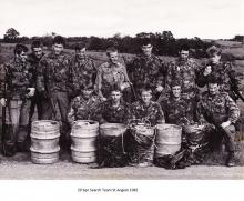 20 Sqn Search Team St Angelo 1982