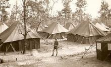 TENTED CAMP THAILAND 1964