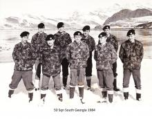 50 Sqn South Georgia 1984
