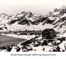 50 Sqn South Georgia 1984 King Edwards Point