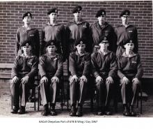 AAColl Chepstow Part of 67B B Wing J Coy 1967