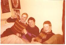 Baz Round, Pete Roberts & Doc Holliday 73 Amph 1970s