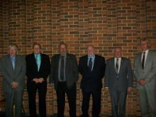 RE Wing - Some Founder Members 50 years on