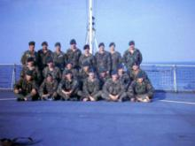 301 Tp on the Troop Ship en route to BAOR