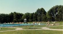Hohne Garrison Swimming Pool.  1968-9                             Jaaa