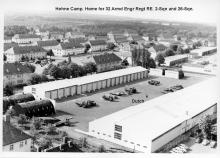Arial - Hohne Camp - Home to 32 Armd Engr Regt RE.