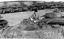 Hohne-Germany-1968. Looking around the Tank dump.                Jaaa