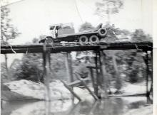 Near Kok Talat village. Send for the Sappers. Operation Crown. 59 Sqn Re 1964