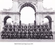 RSME RE SNCO and Fd Sgts Course 1979