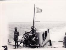 Christmas Island Waterways Division 1956-57