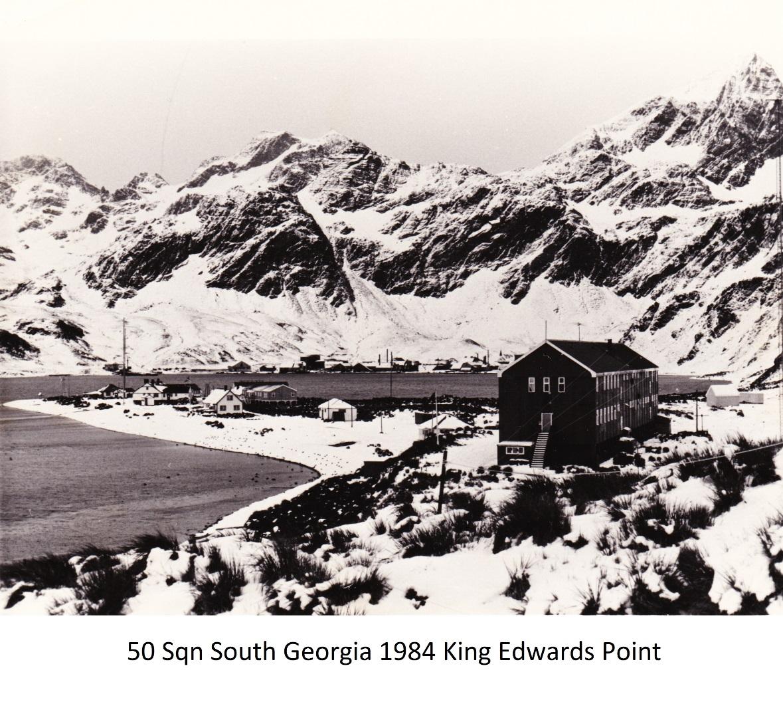 50 Sqn South Georgia 1984 King Edwards Point