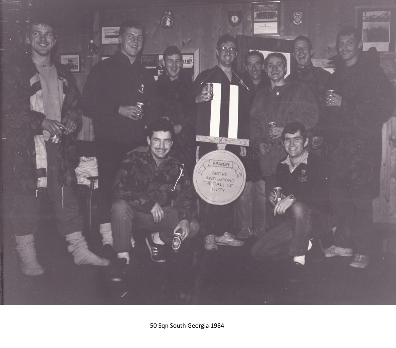 50 Sqn South Georgia 1984 Doctors Medal