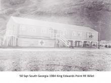 50 Sqn South Georgia 1984 King Edwards Point RE Billet