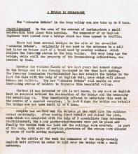 Translation of German newspaper clipping Stadtoldendorf